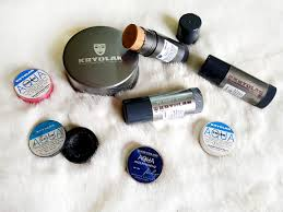 my favorite kryolan s that i bought from makeup city