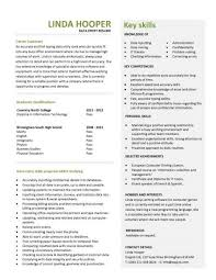 sample cv template entry level resume templates cv jobs sample examples free