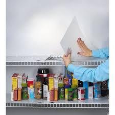 Plastic Shelf Liner Roll ClosetMaid 24 Inch X 24' Shelf Liner Roll White Shelf Liners 15