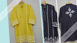 Ralli Design Shirts Latest Aplic Ralli Work Collection 2017
