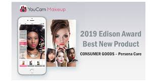 correcting and replacing photo youcam makeup is honored at the 32nd annual edison awards gala for their outstanding leadership in innovation