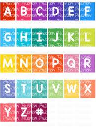 Bundle Alphabet Spine Labels Avery A4 L7651