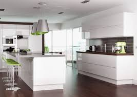 Details About High Gloss White Handleless Replacement Kitchen Doors
