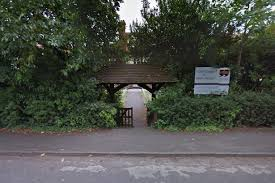 lightning strike at ottershaw school causes fire in fuse box get outside the school in ottershaw photo google street view