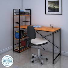 office wooden table. @home By Nilkamal Dalton Engineered Wood Study Table Office Wooden Table