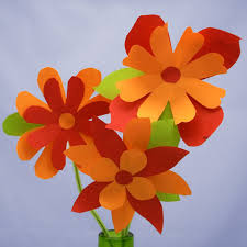 Make Flower With Paper How To Make Paper Flowers Friday Fun Aunt Annies Crafts