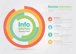 Business Circular Chart Infographic Business Report Creative