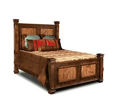 Copper Canyon Bed, Copper Rustic King Size Bed, Rustic King Size Bed