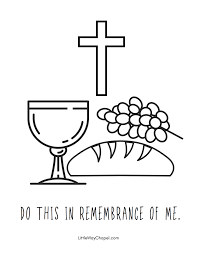 Here are free printable holy week activities, palm sunday crafts, easter printables and bible coloring pages. Holy Week Coloring Pages Little Way Chapel