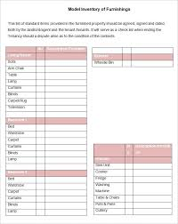 Landlord Inventory Template Unique A Landlord Inventory Template Is A List Of Everything That Your