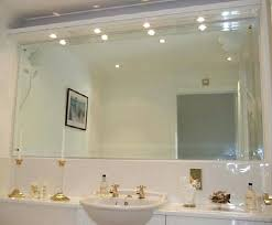 large bathroom wall mirror chic design large bathroom wall mirror elegant vanity oval mirrors regarding large
