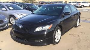 Pre Owned Black 2007 Toyota Camry 4dr Sdn I4 Auto SE Alberta - YouTube