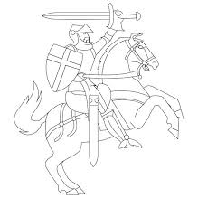 Small Picture Knight Horse Coloring Pages Coloring Pages