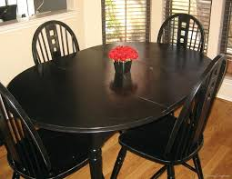 painting a kitchen table black how to paint a kitchen table and chairs with spray google painting a kitchen table black