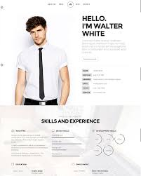 20 Intriguing Online Resume Templates | Web & Graphic Design