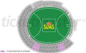 Suns Stadium Seating Chart Ticketmaster Launches Interactive Seat Map At Metricon