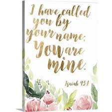 Image result for i have called you by your name and you are mine