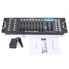 Disco Light Controller Details About 192ch Dmx512 Stage Light Controller Dj Disco Party Lighting Console Operator