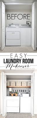 laundry room makeovers charming small. This Laundry Room Makeover Transforms Little Closet With Wasted Space Into A Functional Area Just Few Quick + Simple DIY Changes! Makeovers Charming Small L