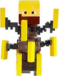 Minecraft Light Up Torch Uk Minecraft Burning Blaze Light Up Figure Amazon Co Uk Toys