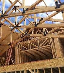 trusses building frame