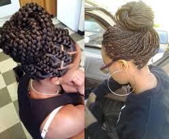 Black Braided Bun Hairstyles Box Braids Bun Hairstyles You Will Swear With Hairstyles