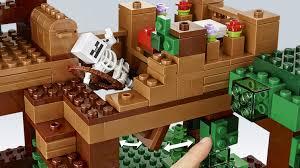 Lego Full House 21125 The Jungle Tree House Minecraft Products Legocom