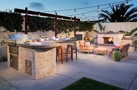 40 inspiring outdoor barbecue area