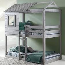loft bed sets twin over twin deer blind bunk bed in light grey finish ikea loft bed setup