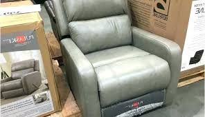 costco simon li leather glider recliner 399 uk chair home improvement amazing set lift co synergy
