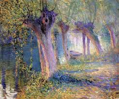 untitled also known as river epte giverny guy orlando rose circa 1910