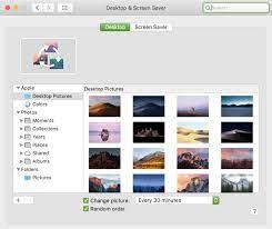 default desktop wallpapers on Mac