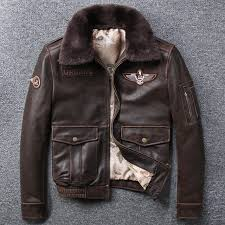 adequate supply autumn winter male clothing cowhide mens vintage short leather jackets genuine leather turn down