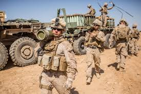 Marine Artilery Us Marine Corps Artillery Battalion Of More Than 400 Troops Leaves Syria
