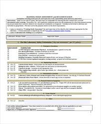 27+ Sample Assessment Form Examples - Free Example, Sample Format ...