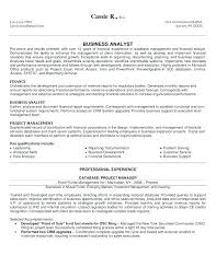 Resume For Financial Analyst Adorable Resume Template Senior Financial Analyst Examples Free Project