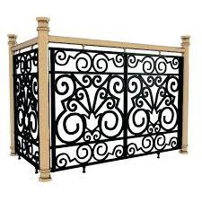 Decorative Wrought Iron Fence Panels Exotic Wrought Iron Panels