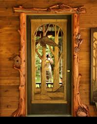 custom front doorHand Carved Custom Front Entry Doors  Cactus Creek