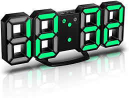 CENTOLLA <b>3D LED Digital</b> Alarm Clock,Wall Clock, Digital Clock ...
