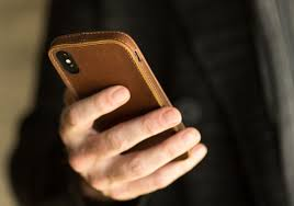 slim leather per case for iphone x