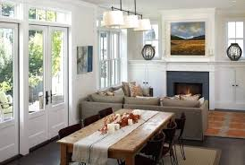 Living And Dining Room Combo Simple Decorating