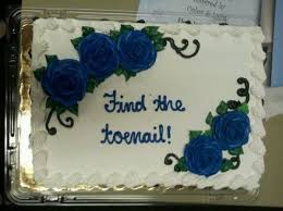 Find The Toenail Cake Nope Funny Cake Funny Birthday Cakes