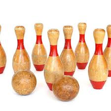 Antique Wooden Bowling Game Best Vintage Bowling Pins Products on Wanelo 96