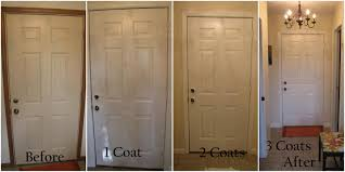 White Interior Doors With Wood Trim Trim And Did Coats Using With
