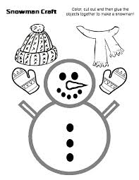 Small Picture Snowman Cut Out Template Coloring Coloring Pages