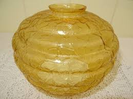 Antieke Glazen Lampenkap