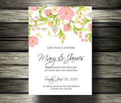 only 5 00 usd wedding invitation