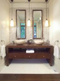 hanging pendant lights over bathroom vanity stun alluring lighting in bathrooms interiors 23