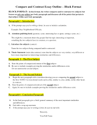 example of comparison essays co example of comparison essays