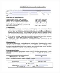Permission Slip Template Inspiration 48 Vaccine Consent Form Templates Sample Templates